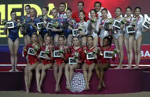 US women win team title at world championships - Houston Chronicle