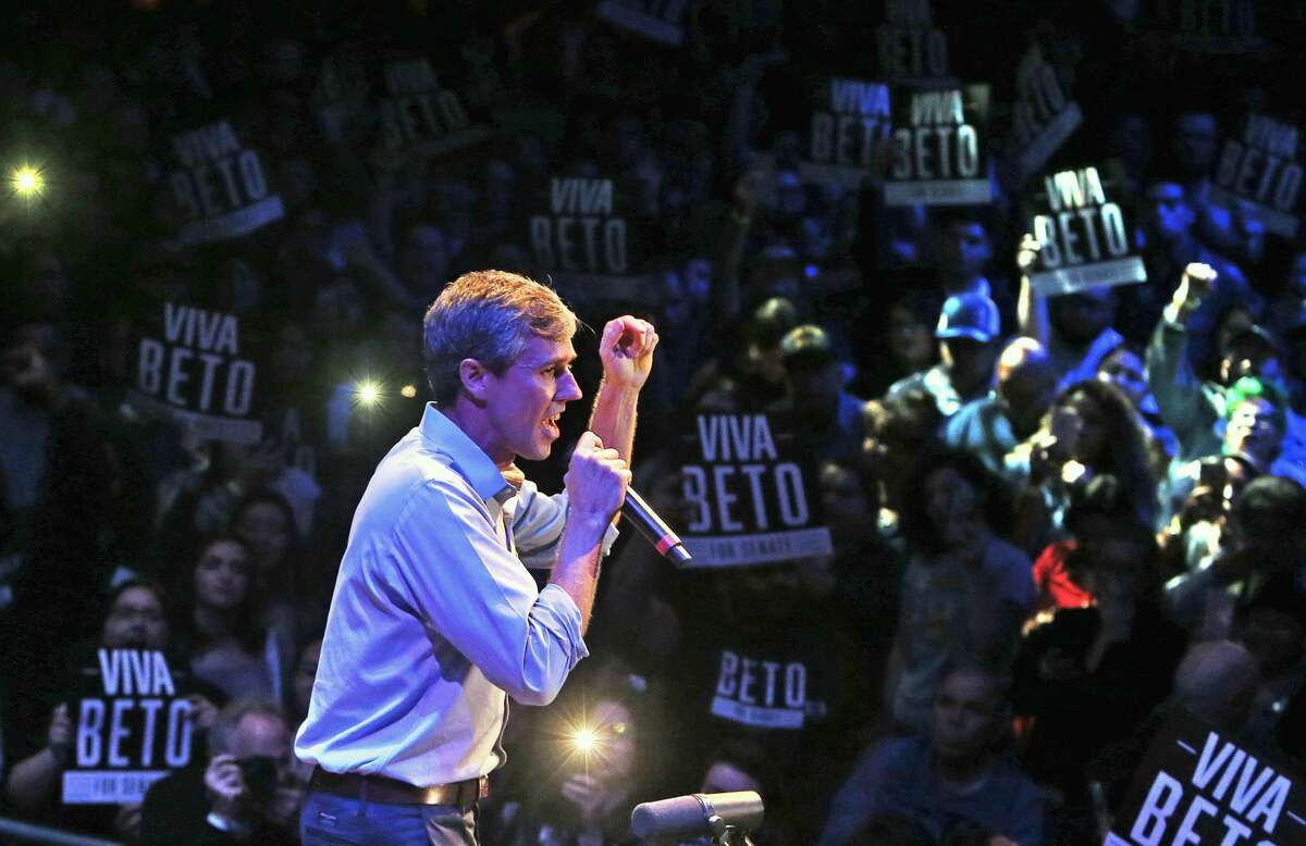 Beto O'Rourke at concert/rally at Cowboy Dancehall, 3030 NE Loop 410. Congressman Joaquin Castro will be there, with music by Intocable, Shinyribs and Los Callejeros de San Anto on Tuesday, October 23, 2018