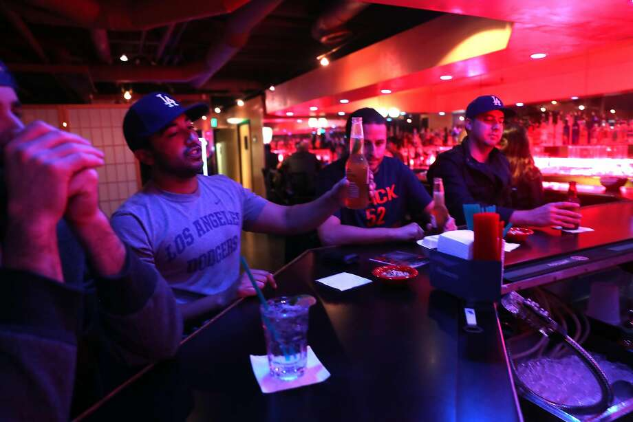 The subterranean bar in Japantown always draws customers. Photo: Scott Strazzante / The Chronicle