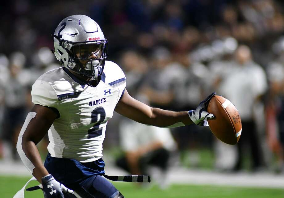 Tomball Memorial senior Jorden Gidrey (2) was selected as a District 14-6A second team all-district wide receiver. Photo: Jerry Baker, Houston Chronicle / Contributor / Houston Chronicle