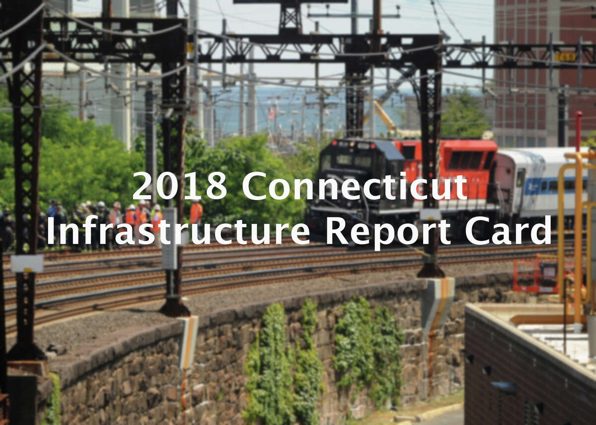 Connecticut's roads and wastewater treatment systems are in need of major repairs costing billions over the next two decades while issues facing the state's bridges and drinking water are nearly as bad. Click through to see how Connecticut fares on its infrastructure report card. Read more