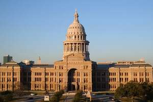 The Texas Capitol is shown on Wednesday, Jan. 8, 2003, in Austin, Texas. The 78th Legislature is set to get underway on Tuesday, Jan 14, 2003. (AP Photo/Harry Cabluck)