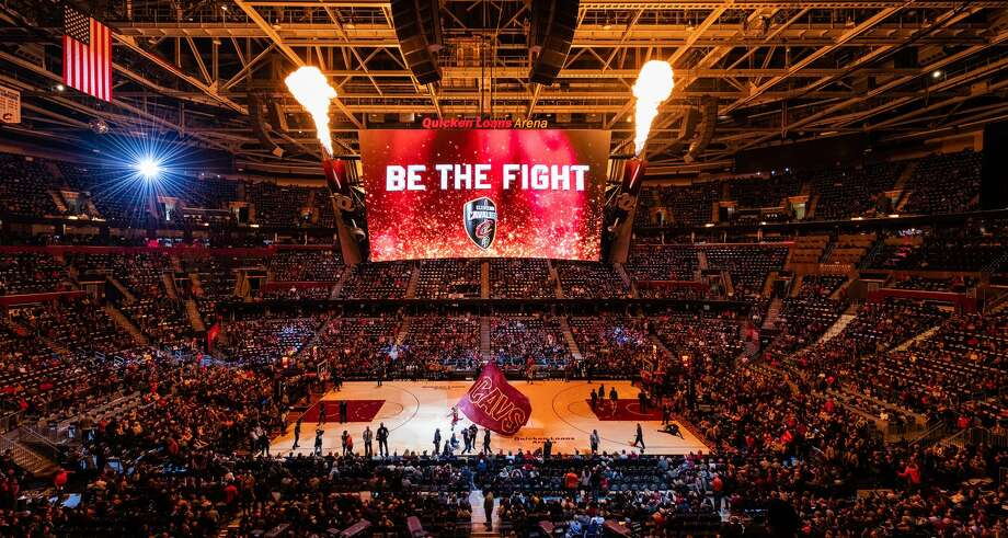 CLEVELAND, OH - OCTOBER 27: A general stadium view of Quicken Loans Arena during players introduction prior to the game between the Cleveland Cavaliers and the Indiana Pacers on October 27, 2018 in Cleveland, Ohio. (Photo by Jason Miller/Getty Images) Photo: Jason Miller/Getty Images