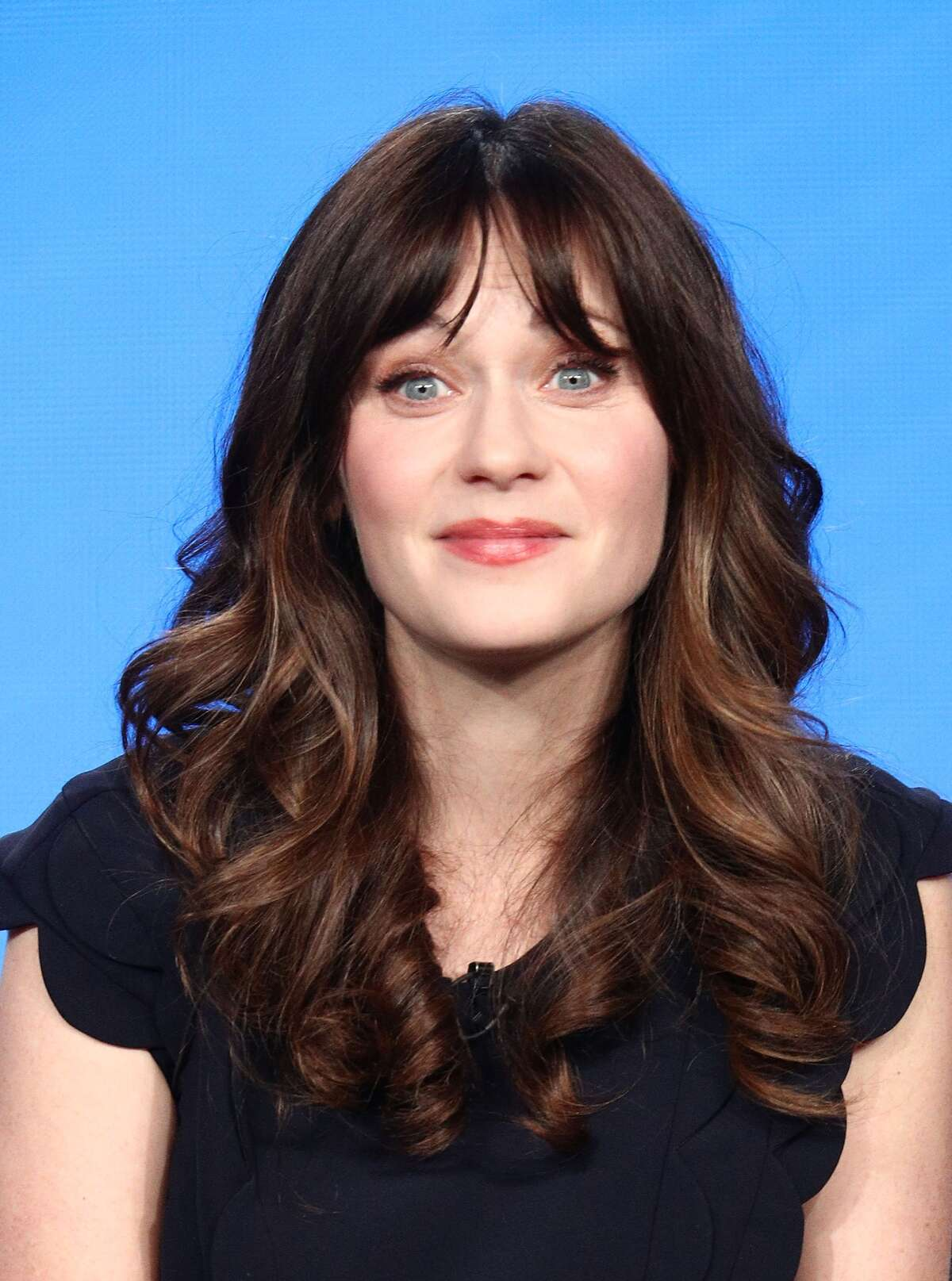 Actress Zooey Deschanel Deschanel is among the celebrities supporting Biden, according to CBS News.