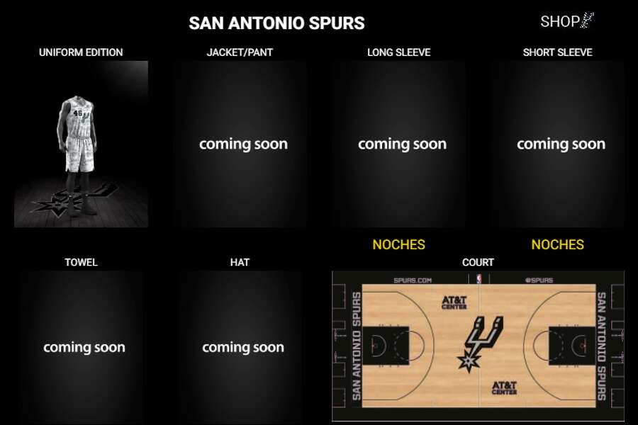 228fcc2924f NBA quietly releases new Spurs jersey design - ExpressNews.com