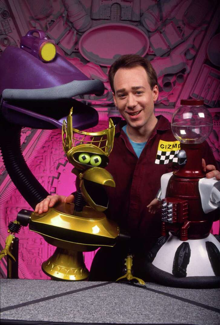 """""""Mystery Science Theater 3000"""" all started with series creator Joel Hodgson and his on-air robot friends (left to right) Gypsy, Crow T. Robot and Tom Servo."""