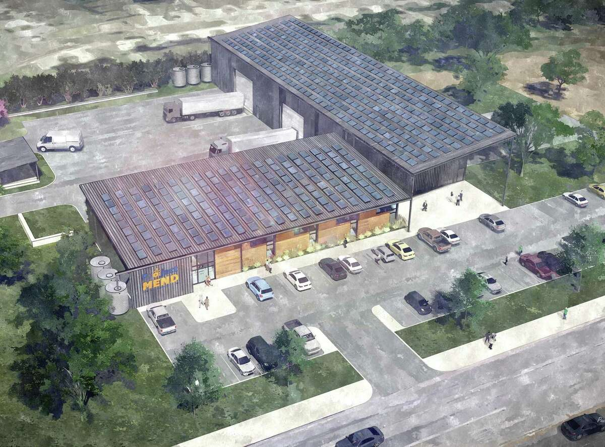 Project MEND outlined plans Tuesday to construct a new facility, shown in this rendering, at the Medical Center. The 18,000-square-foot building will be second largest medical equipment reuse facility in the U.S. and the largest in Texas.
