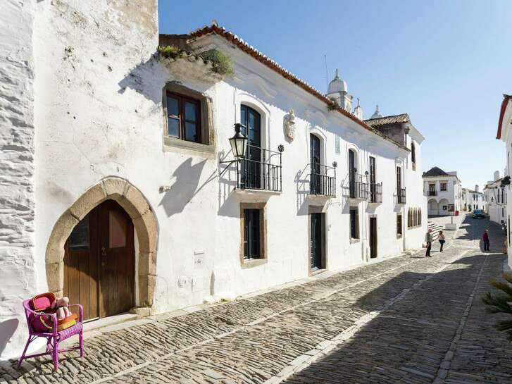 Monsaraz, a mountain village in Alentejo, is worth exploring.