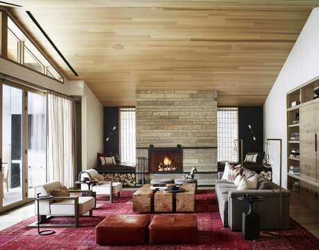 Caldera House is an eight-suite hotel and alpine members club.