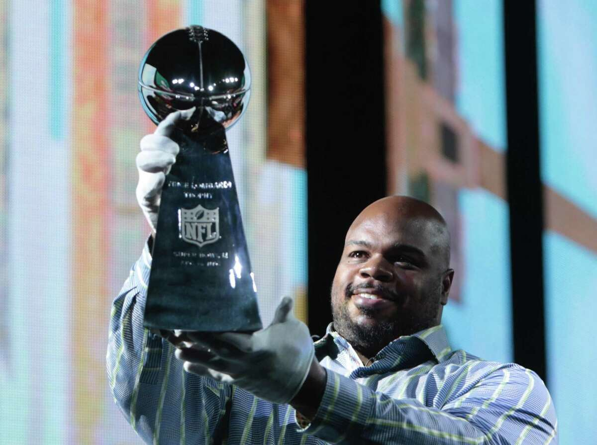 Vince Wilfork won two Super Bowls with the New England Patriots before finishing his career with the Texans.