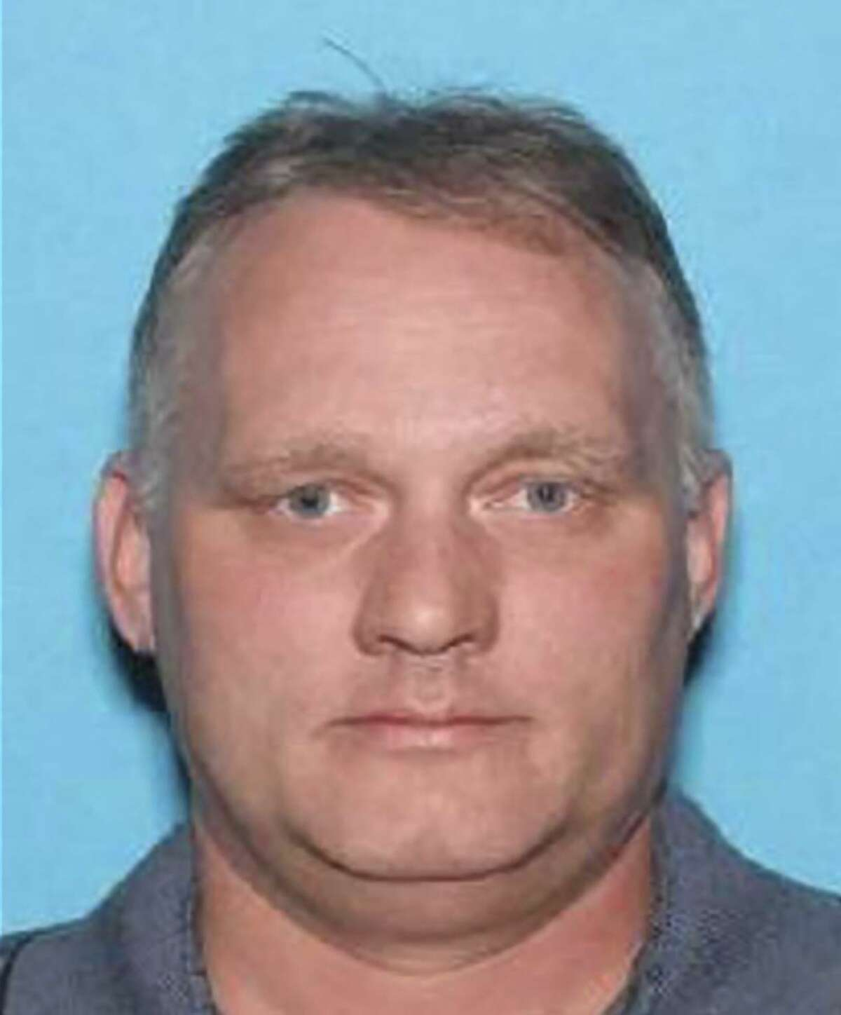 """A photo provided by the Pennsylvania Department of Motor Vehicles shows Robert Bowers, who is accused a shooting rampage that left 11 people dead at the Tree of Life Congregation in Pittsburgh. Bowers appeared at a federal courthouse in downtown Pittsburgh in a wheelchair on Oct. 29, 2018. The judge listed an overview of the 29 criminal charges against him and asked him if he understood them. ?""""Yes,?"""" he replied. (Pennsylvania Department of Motor Vehicles via The New York Times) -- FOR EDITORIAL USE ONLY. --"""