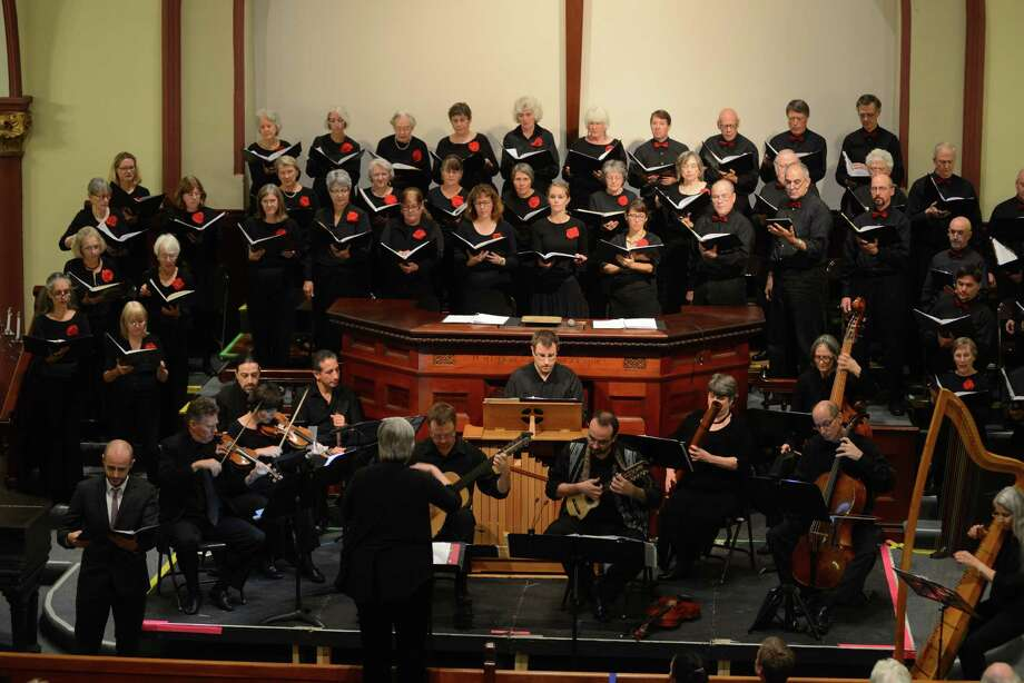 Crescendo continues its choral concert season on Saturday and Sunday, Nov. 10-11, with concerts in Great Barrigton, MA, and Lakeville. Photo: Contributed Photo / / 2014-All Rights Reserved steve.potter@yahoo.com