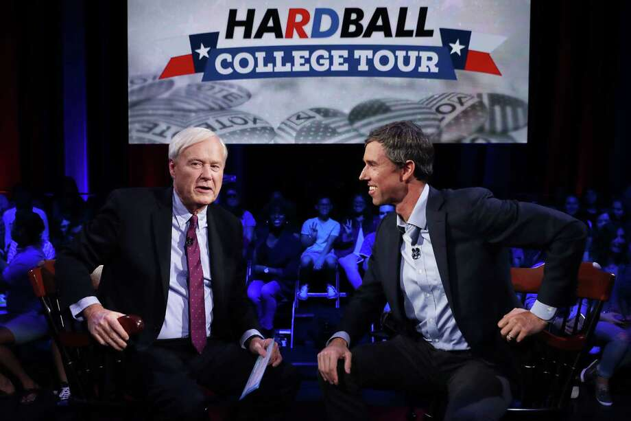 Hardball with Chris Matthews: The long-running political show ended after 21 years on MSNBC after a political reporter accused Chris Matthews of being inappropriately flirty with her. Photo: Getty Images / 2018 Getty Images
