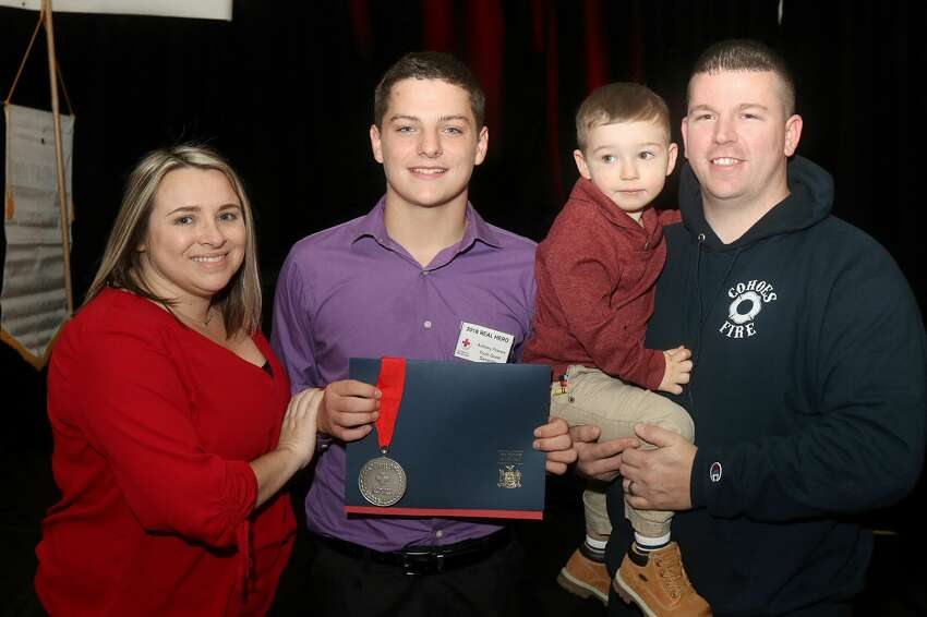 Were you Seen at TheAmerican Red Cross Real Heroes Breakfastat The Hilton Garden Inn inTroy on Tuesday, Oct. 30, 2018?