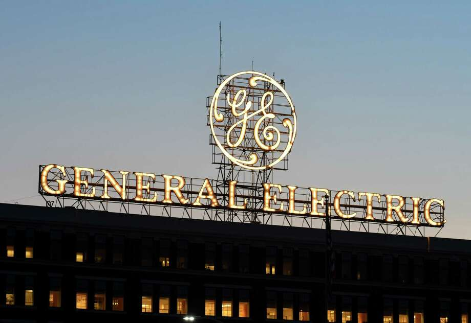 The General Electric sign is seen from Edison Avenue on Thursday, Aug. 9, 2018, in Schenectady, N.Y. (Will Waldron/Times Union) Photo: Will Waldron