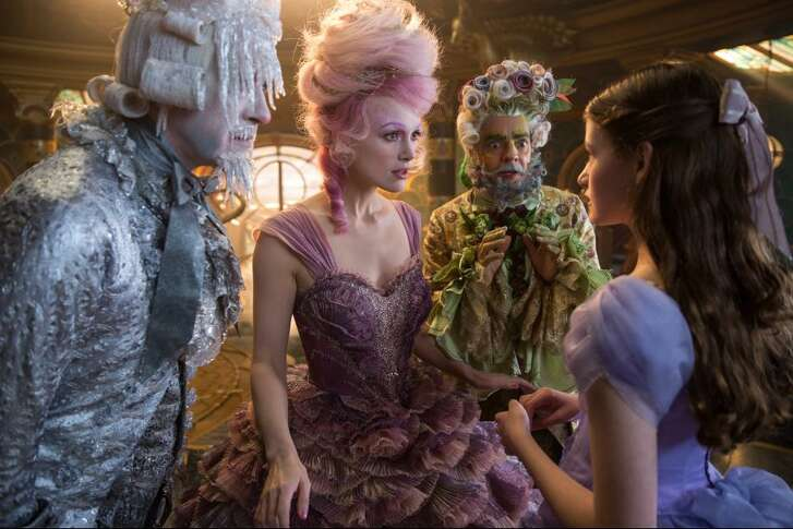 """Costume designer Jenny Beavan, who has won Oscars for dressing the English  past and the apocalyptic future, is now creating fantasy in Disney's """"The Nutcracker and  the Four Realms,"""" which opens Friday."""