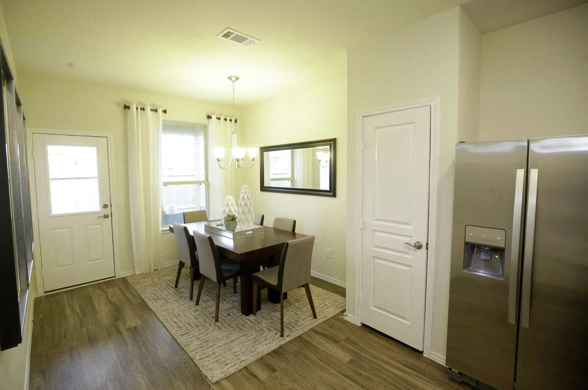 A one story 1,516 square foot home called the Taft model in the Retreat at Champions Landing by Centex is shown Wednesday, Oct. 17, 2018, in Houston.