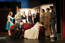 """Cast members from Roxana High School's Thespian Troupe 556 will kick off their theater season this weekend with """"Clue on Stage."""""""