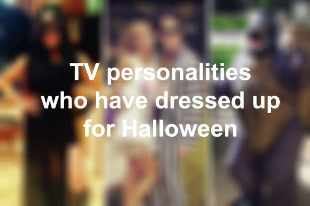 TV personalities who have dressed up for Halloween