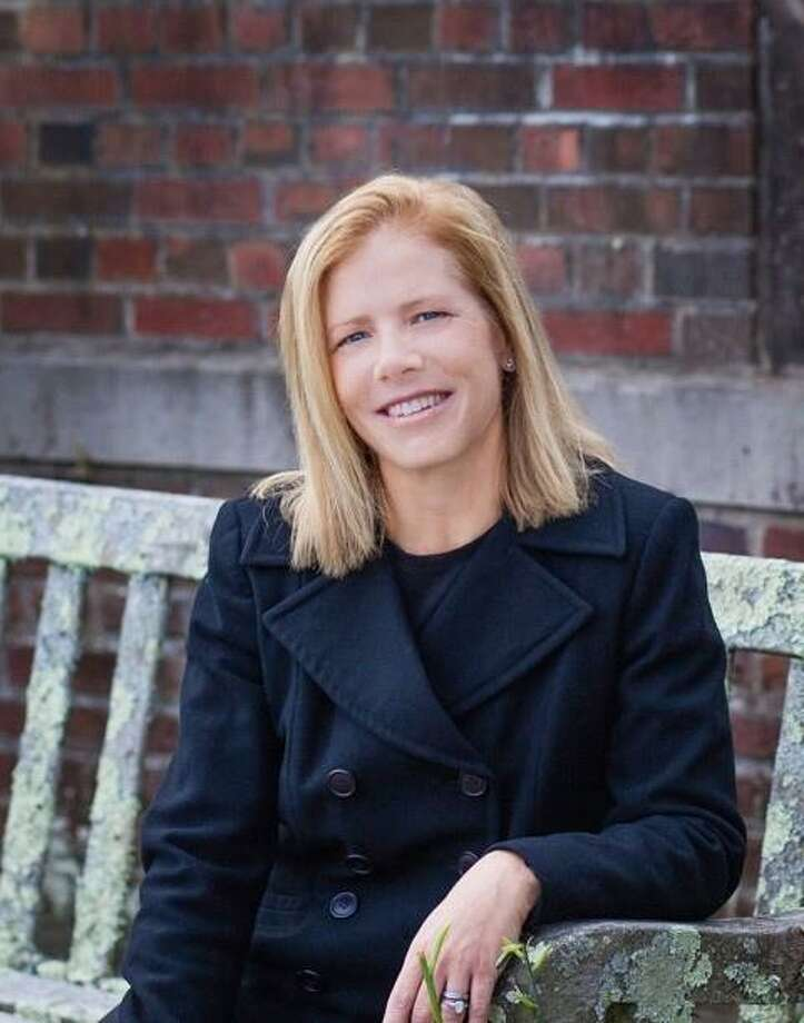 "Published author Ann Lineberger promoted her book, ""Sunday Best"", at Elm Street Books in early October. Photo: Contributed Photo / Contributed Photo / New Canaan News contributed"