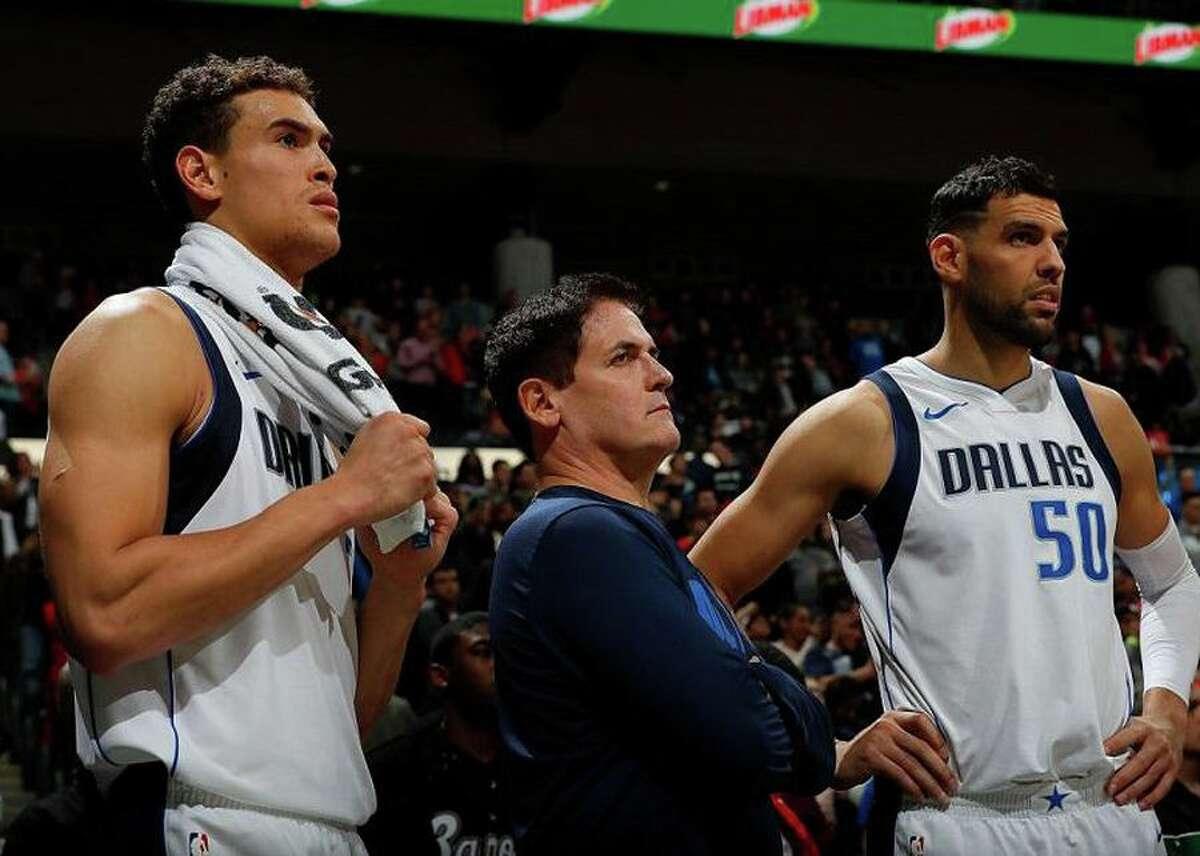 Mark Cuban owns NBA franchise, the Dallas Mavericks.