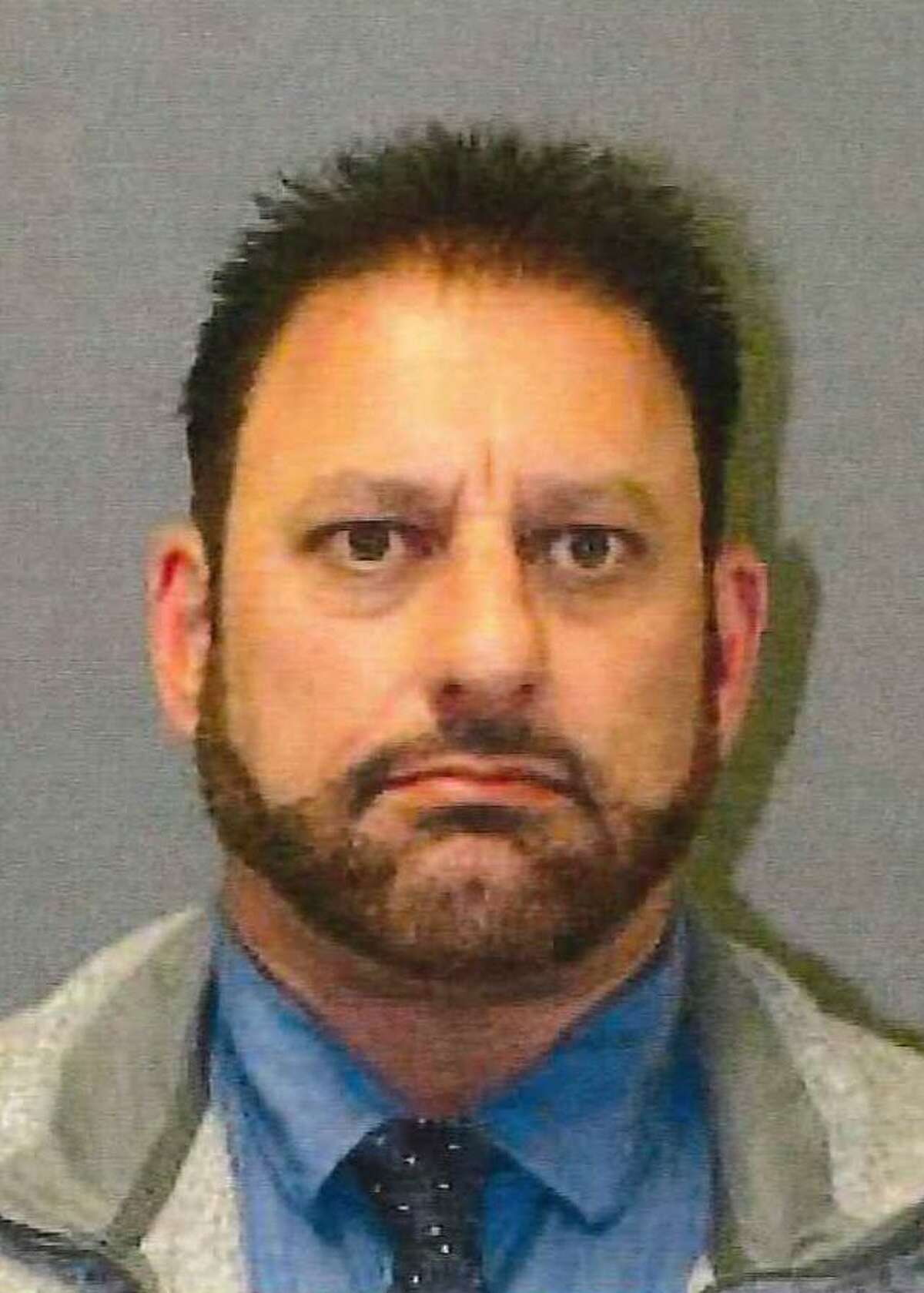 Former West Haven police Sgt. David Tammaro, shown in the mugshot, was arrested Wednesday morning, Oct. 31, 2018 by Connecticut State Police and charged with 87 counts of 2nd Degree Forgery. Tammaro was released on a $10,000 bond and is scheduled to appear in Milford Superior Court on Nov. 13.