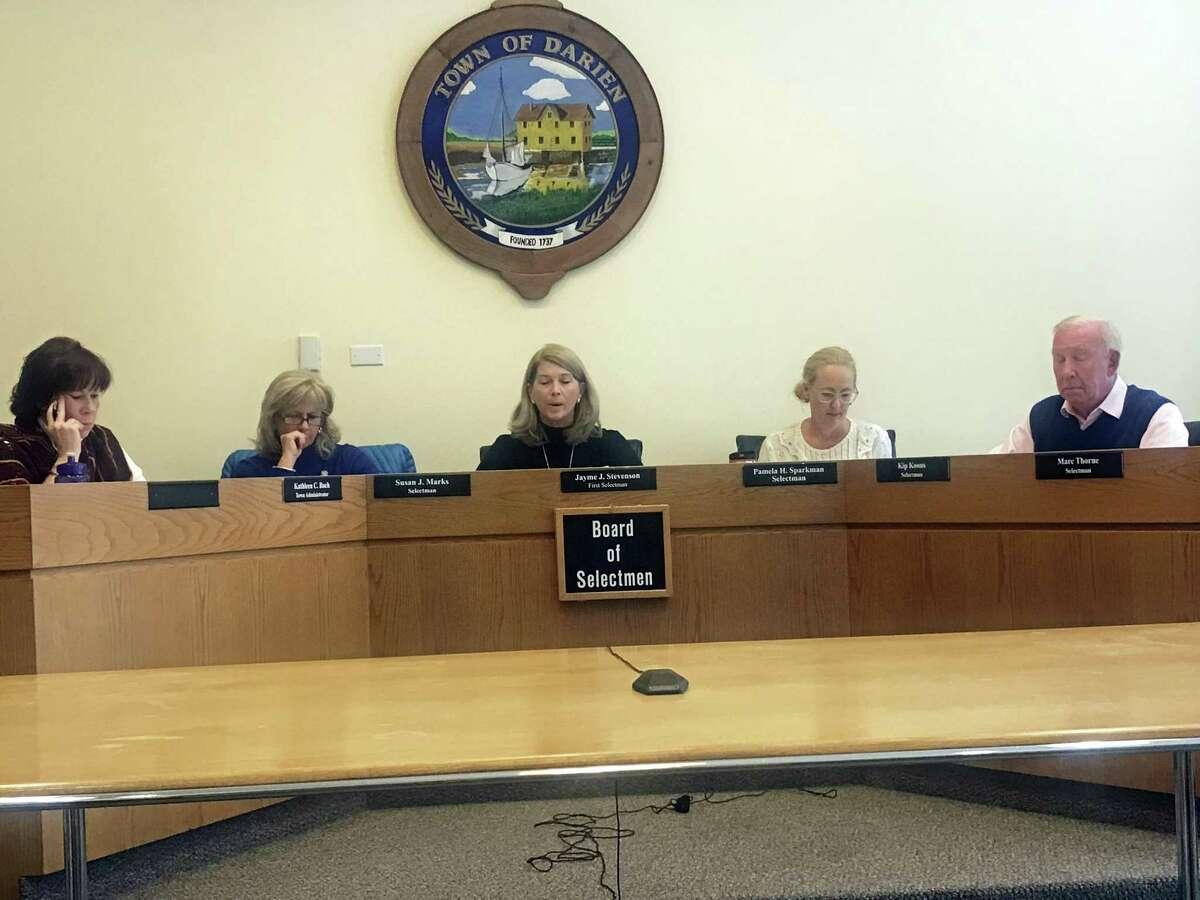The Board of Selectmen. Taken Oct. 29.