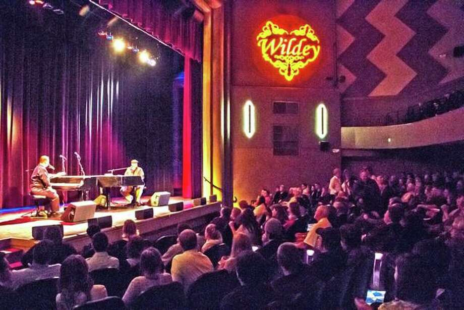 Spanky's Dueling Pianos play at last year's Winter Concert Series inside Wildey Theatre in Edwardsville. They will perform on Nov. 16 to begin this year's series. Photo: For The Intelligencer