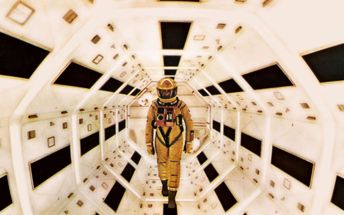 """Keir Dullea in """"2001: A Space Odyssey."""""""