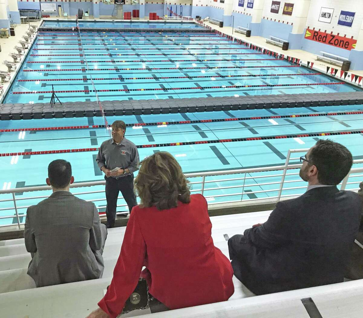 Wesleyan University and Eversource have partnered to achieve carbon neutrality by 2050. The college hosted a tour Tuesday afternoon, showcasing recent energy-efficient upgrades at the Freeman Athletic Center in Middletown.