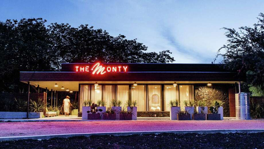 The Monty events center on South St. Mary's Street in San Antonio was once the home of a restaurant called The Monterey. It's set to become the second location of chef Tim McDiarmid's The Good Kind cafe in early 2019. Photo: Jessica Giesey /Jessica Giesey Photography