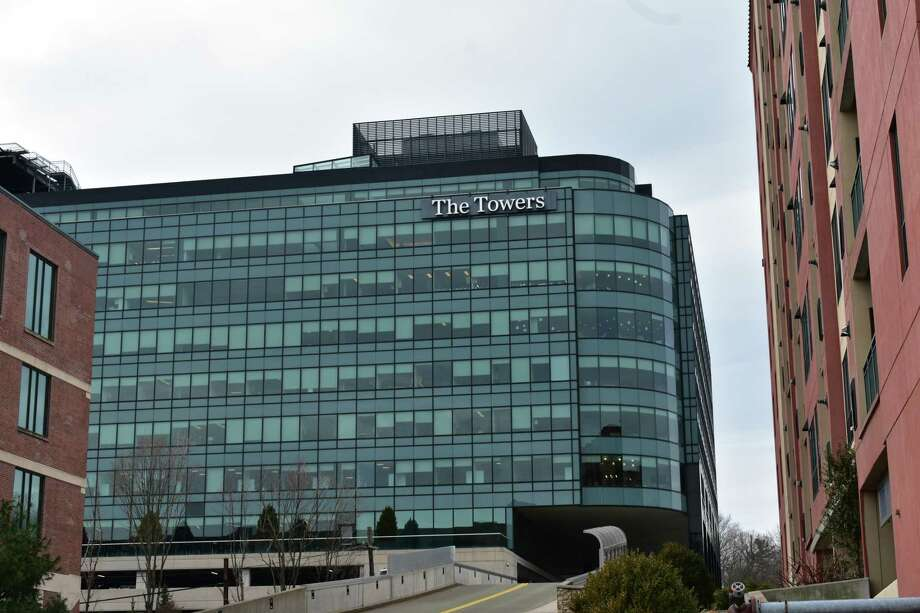 The Norwalk, Conn. headquarters building of GE Capital. Photo: Alexander Soule / Hearst Connecticut Media / Stamford Advocate