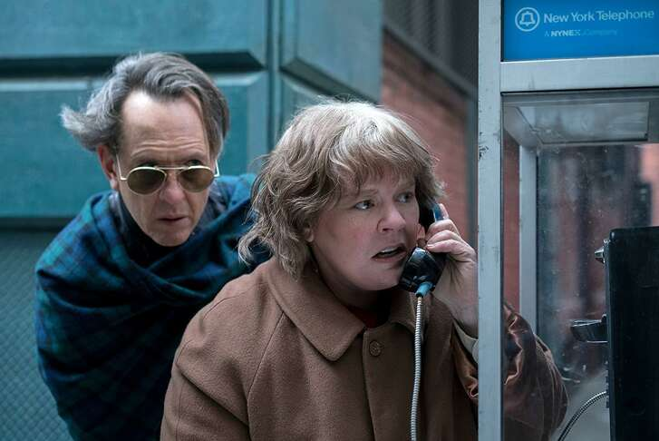 """Richard E. Grant and Melissa McCarthy in """"Can You Ever Forgive Me?"""""""