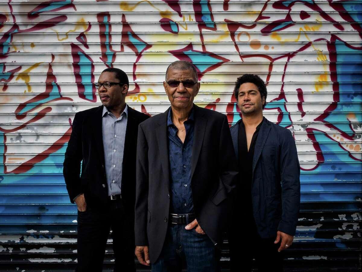 Ravi Coltrane, Jack DeJohnette, Matthew Garrison.