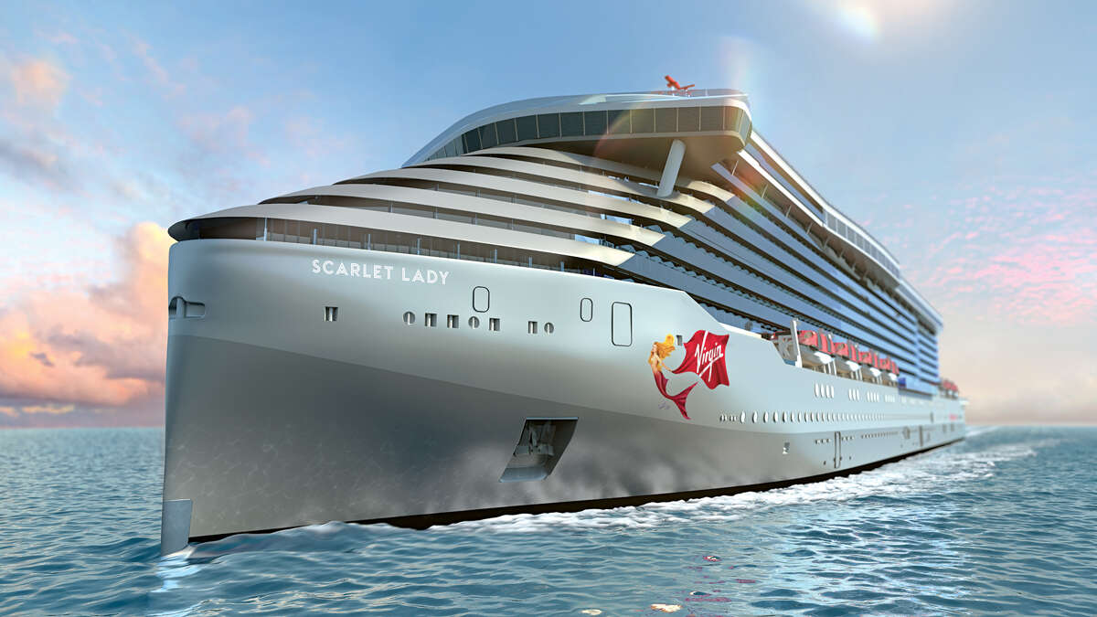 PHOTO TOUR: Virgin Voyages first ship, The Scarlet Lady, is under construction in Italy and due to sail in 2020.