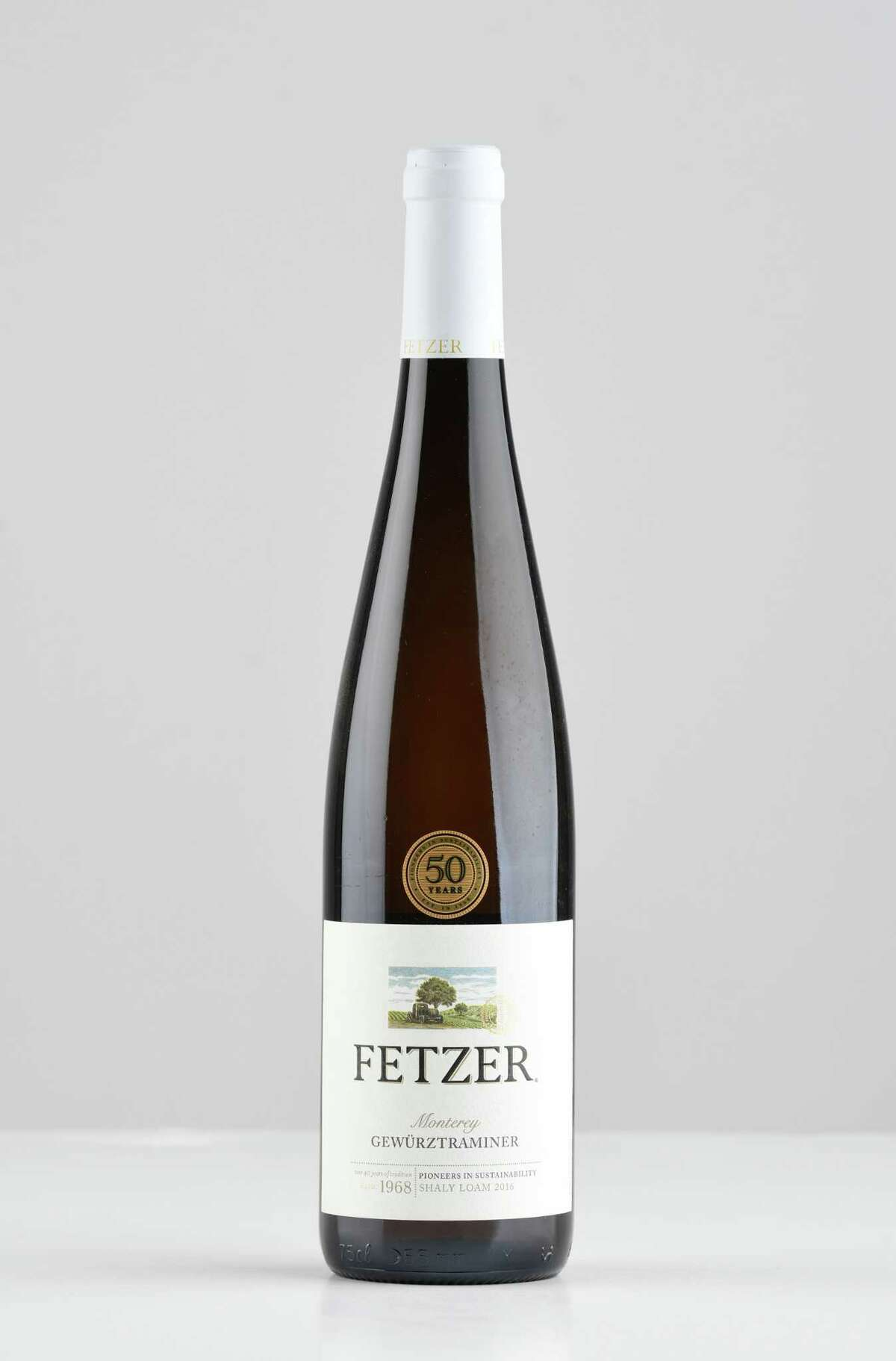 Fetzer chardonnay on Thursday, April 26, 2018, at the Times Union in Colonie, N.Y. (Will Waldron/Times Union)
