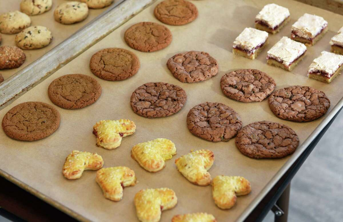 Cookies for the Times Union's annual cookie guide contest at Honest Weight Food Co-op Thursday Nov. 10, 2016 in Albany, NY. (John Carl D'Annibale / Times Union)