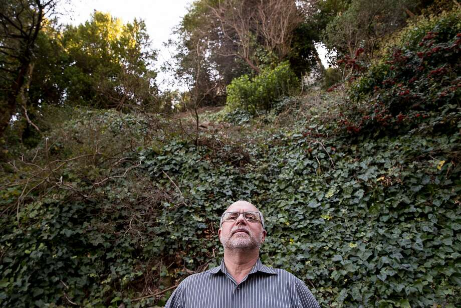 Sausalito homeowner David Holub got help from California Renters Legal Advocacy Fund, or CaRLA, in getting approval to build a second house on his property. Photo: Jessica Christian / The Chronicle