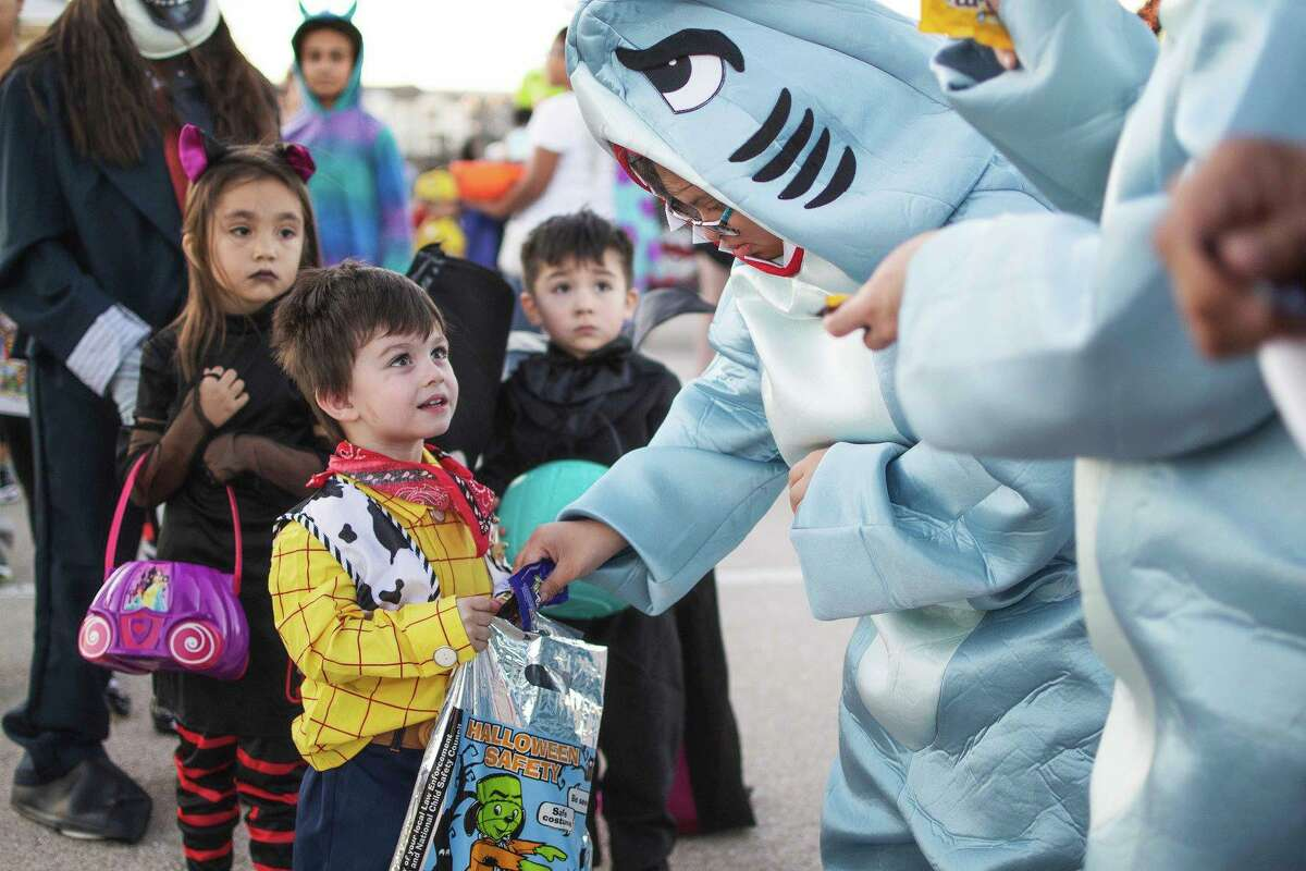 Midland Police Department's annual Trunk or Treat event.
