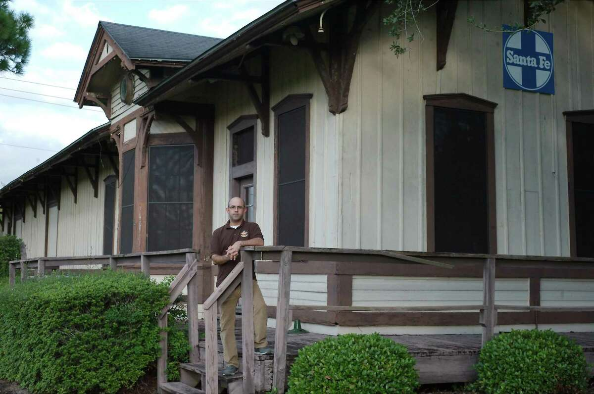 Donald Hayes, chairman of the Citizens Advisory Committee to Restore the Pearland Depot, is hoping the building can be operational as a museum and event venue in the fourth quarter of next year.