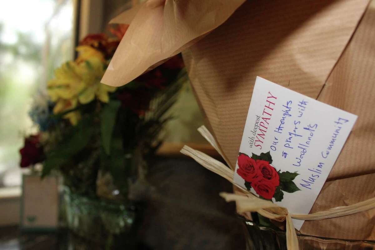 Congregation Beth Shalom of The Woodlands' Immediate Past President Ellen Karas said that neighbors and other faith groups have expressed their condolences to the local Jewish community with flowers and hugs in th e wake ofSaturday?'s shooting at the Tree of Life Synagogue in Pittsburgh.