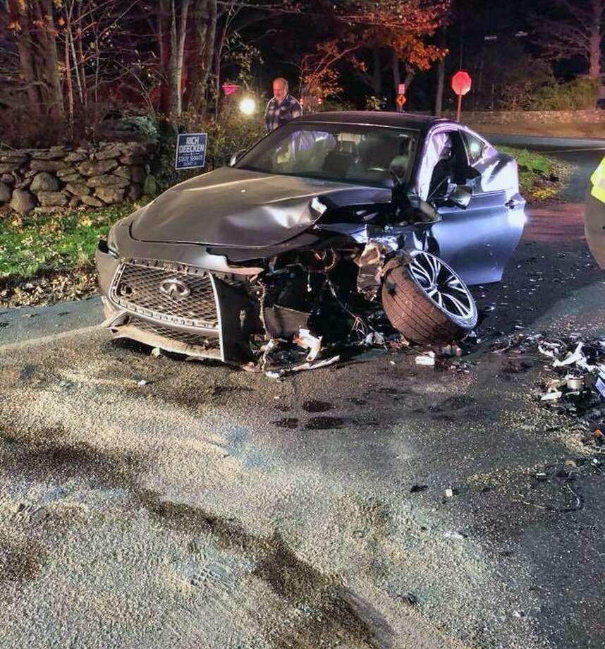 1 extricated from 2 car collision in monroe connecticut post