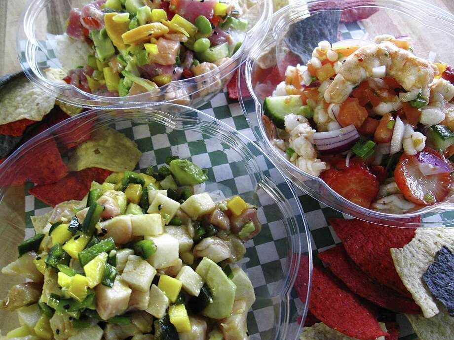 Ceviche Ceviche Fast-casual seafood. 18360 Blanco Road, Suite 120, 210-538-5016, Facebook: @CevicheCevicheTX. Click here for more. Photo: Mike Sutter /Staff
