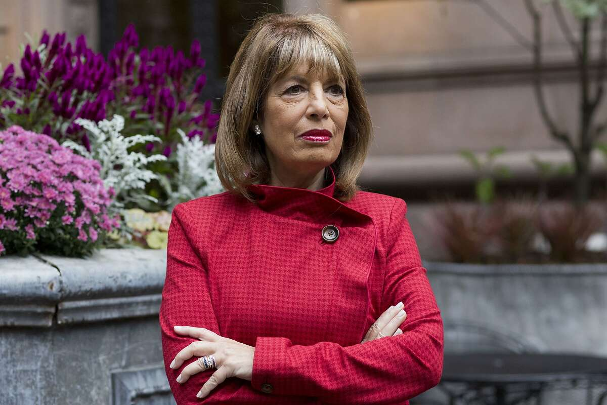 In this Monday, Oct. 15, 2018 photo, Congresswoman Jackie Speier (D-CA) poses for a portrait in New York. Soon after the #MeToo movement began a year ago Speier spoke out.