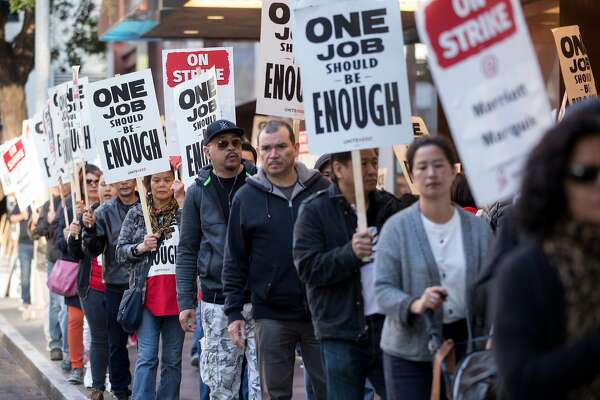 Marriott and SF hotel workers reach agreement to end strike