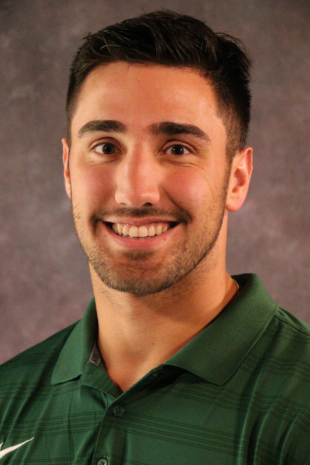 La Salle graduate Joe Germinerio of the Brockport football team. (Courtesy of Brockport)