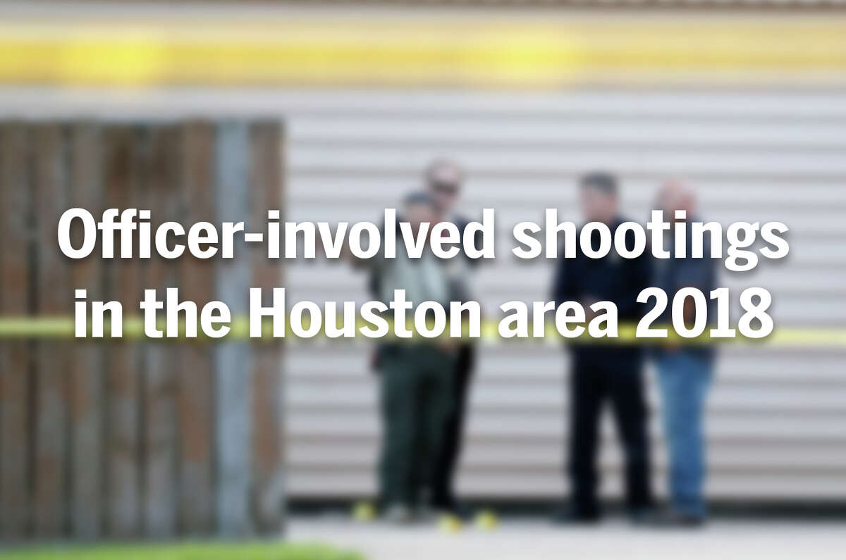 >>Here are the officer-involved shootings that have taken place in the Houston area this year.
