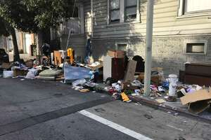 SF Public Affairs posted a photo of one illegal dumping site in the Mission on Oct. 29, 2018.