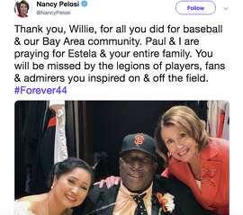 The sports world reacts to the death of Giants legend Willie McCovey.