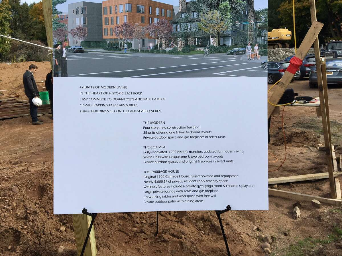 Description of new apartment development coming to 703 Whitney Ave. New Haven.